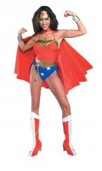 Seksikäs Wonder Woman™- naamiaisasu naiselle