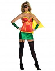Robin™-pikkutuhma naamiaisasu aikuiselle