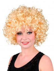 Naisten kihara blondi peruukki