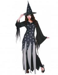 Hämähäkkejen kuningattar - Naisten Halloween-noidan asu