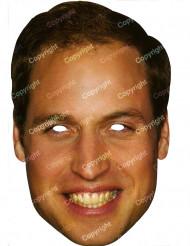 Aikuisten kartonkinaamio prinssi William