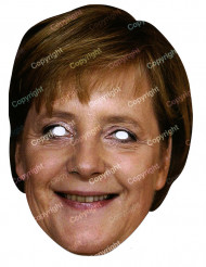 Aikuisten kartonkinaamio - Angela Merkel