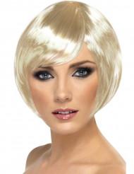 20-luvun blondi - Vaalea cabaret-peruukki teemajuhliin