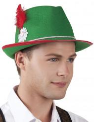 Vihreä Oktoberfest-hattu aikuisille