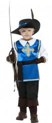 Sininen muskettisoturi - Naamiaisasu lapsille