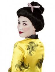 Geishan musta peruukki naisille
