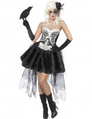 Goottiluurangon naamiaisasu naiselle halloween