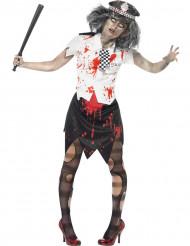 Naisten Halloween Zombi poliisiasu