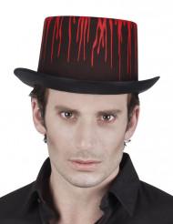Musta verinen hattu halloween