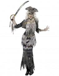 Naisten Halloween haamumerirosvoasu