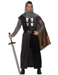 Keskiaikaisen ritarin naamiaisasu aikuiselle