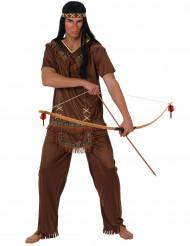 Rohkea metsästäjä - Miesten intiaanipuku