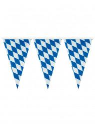 Oktoberfest-viirinauha sinivalkoisilla viireillä - 4 m