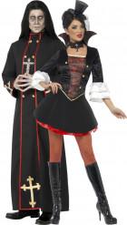 Demonipappi ja vampyyri - aikuisten halloween pariasu