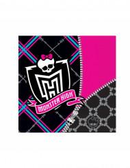 Paperilautasliinat Monster High™ 33 x 33 cm - 20 kpl