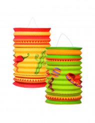 Meksikolaiset paperilyhdyt, 2 kpl