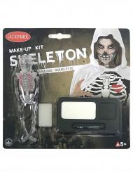 Luuranko Halloween meikkisetti