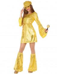 Naisten kultainen discoasu
