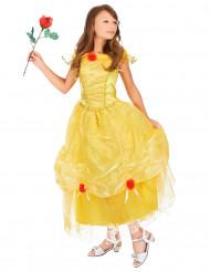 Keltainen prinsessa-asu lapsille