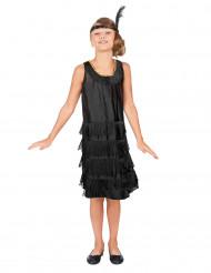 Musta charleston-mekko lapsille