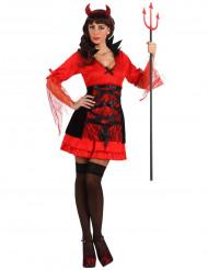 Viettelevä pirutar Halloween-asu naisille