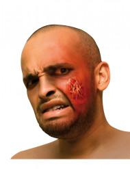 Aikuisten Halloween-maskeerauspakkaus - sis. kasvojen tekohaavan