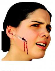 Aikuisten maskeerauspakkaus - sis. kasvojen tekohaavan