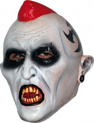 Kuolleen punkkarin kasvot Halloween- juhlaan