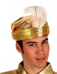 Arabisulttaani hattu kultainen