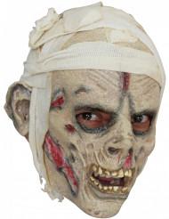 Aikuisten naamari pelottavilla muumion kasvoilla - Halloween