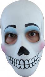 Día de los muertos -naamio aikuisille