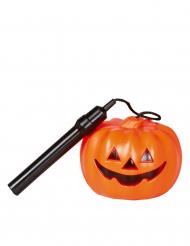 Halloweenin kurpitsataskulamppu