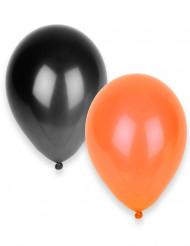 Mustaoranssit ilmapallot 50 kpl - Halloween