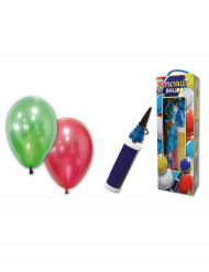Metallinhohtoiset ilmapallot 25 kpl + pumppu