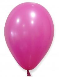 Fuksianpunaiset ilmapallot 25 cm - 24 kpl