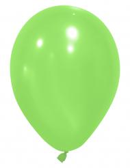 Vihreät ilmapallot 25 cm - 24 kpl