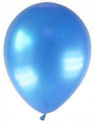 12 metallinhohtoista sinistä ilmapalloa