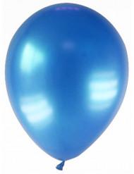 12 tummansinistä ilmapalloa, 28 cm