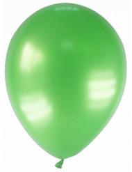 12kpl metallinhohtoinen ilmapallo vihreä