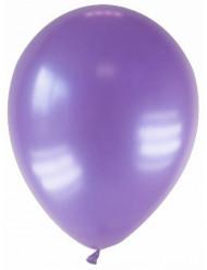 Metalliset violetit ilmapallot 28 cm - 12 kpl