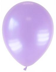 Metallinliilat ilmapallot 28 cm - 12 kpl