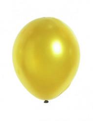 12 Metallinen kulta ilmapalloa 28 cm