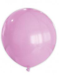 Jättikokoinen vaaleanpunainen ilmapallo - 80 cm