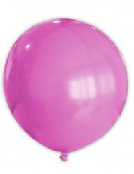 Suuri vaaleanpunainen ilmapallo