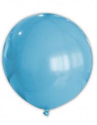 Jättikokoinen turkoosi ilmapallo
