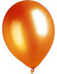 Oranssit metalliset ilmapallot 29 cm 100 kpl