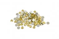 Pyöreänmalliset kullanväriset pöytäkonfetit - 10 g