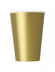 Kultaiset pahvimukit, 10 kpl