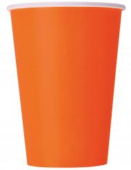 Oranssit pahvimukit, 10 kpl