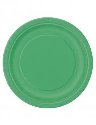 Vihreät pahvilautaset, 16 kpl